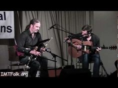"This is a great video of Cillian Vallely and Alan Murray playing ""Lark in the Morning"""