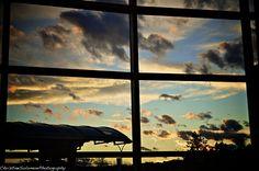 Kelowna Airport Windows, Ramen, Window