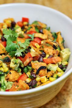 Southwestern Grilled Sweet Potato Salad: take this to your next cookout or picnic – it's a winner! (gf, vegan).