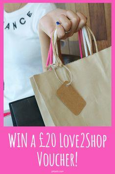 WIN a £20 Love2Shop Voucher!