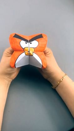Cool Paper Crafts, Paper Crafts Origami, Origami Art, Bird Paper Craft, Fun Crafts, Diy Crafts Hacks, Diy Crafts For Gifts, Creative Crafts, Art Drawings For Kids