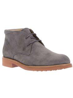 Tod's bi-colour desert boots