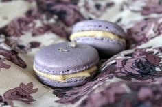 The Cottage Diaries: Lavender Macarons with Honey Earl-Grey Buttercream