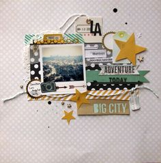 Big City - Days of Our Lives kit | Scraptastic Club