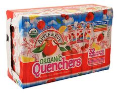 Apple & Eve Organic Quenchers - 32 Juice Boxes - Variety https://www.boxed.com/product/1044/apple-eve-organic-quenchers-32-juice-boxes-variety/