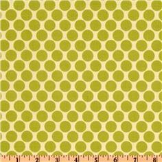 Amy Butler Lotus Full Moon Polka Dot Lime  Item Number: AW-169  Our Price: $8.98 per Yard