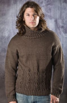 Free Pattern : Cable Style Guy