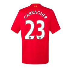 Official Liverpool FC New Balance 2016 2017 Jamie Carragher Home Jersey  Size: XL  No patches on sleeves