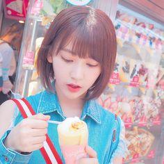 Sakura MiyawakiさんはInstagramを利用しています:「原宿は甘いもの多すぎる〜〜❤️ #harajuku #crepe #cottoncandy #yammy #」