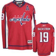 Reebok Washington Capitals Nicklas Backstrom Premier Home Jersey  159.95  Small Washington Capitals Jersey eac9c5d38