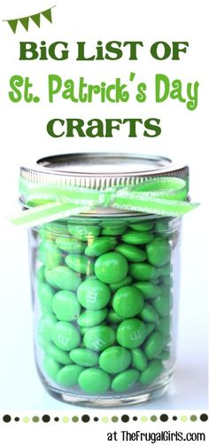 St. Patricks Day Crafts from TheFrugalGirls.com - get your green craftiness on!
