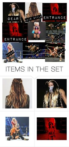 """ember moon vs alexa bliss"" by dani-loves-wwe-music ❤ liked on Polyvore featuring art"