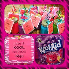 Last dAy of school gifts for friends. Stay kool!