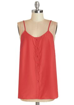 Cookout for the Day Top in Cherry. When the first warm weekend of the season rolls around, you'll be seated at your backyard picnic table, ready to relax in this red tank! #red #modcloth
