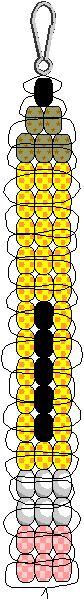 Pencil Pony Bead Pattern
