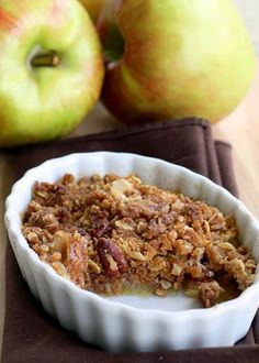 """perfect"" apple crisp"