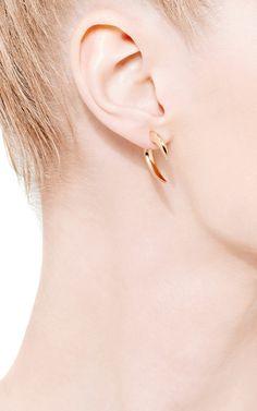 Gold-Plated Talon Earrings by Shaun Leane - Moda Operandi