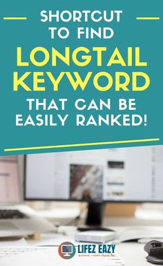 Check out an SEO shortcut keyword research method to find long-tail keywords Search Engine Marketing, Seo Marketing, Marketing Digital, Affiliate Marketing, Content Marketing, Internet Marketing, Online Marketing, Website Analysis, Seo Analysis