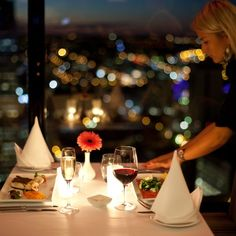 C Restaurant is Western Australia's only revolving restaurant. Martins Tower on St Georges Terrace, Perth City. Dream Dates, Perth Western Australia, Eat Pray Love, Romantic Evening, Supper Club, Saint George, Guilty Pleasure, Fine Dining, Kitchens