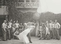 20's theme wedding!