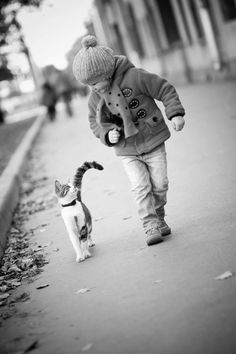 ~ two friends walking together. Cute!