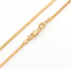 Largo 60cm 18k chapado en oro amarillo cubano de miami de la cadena de serpiente para hombres y mujeres 24 pulgadas 2mm 5g delgado largo collar de oro colgante&