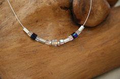 Swarovski Crystal Cube Designer Necklace by MojoByAli on Etsy