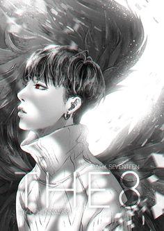 THE8 [SEVENTEEN DARK ANGEL PROJECT 6/13] MY FANART, PLEASE DON'T REUP