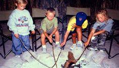 Marshmallows, Botswana with Kwandos