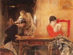 .:. Γύζης Νικόλαος – Gyzis Nikolaos [1842-1901] H χαρτορίχτρα