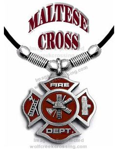 Fire Fighter Necklace