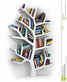 Bilderesultat for boekenkast boom