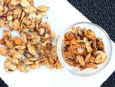 maple cinnamon pumpkin seeds