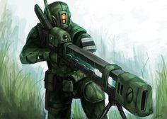 TAU Tropic Thunder by thevampiredio on DeviantArt Warhammer 40k Art, Warhammer Fantasy, Star Citizen, Cyberpunk, Tau Empire, Sci Fi Characters, The Grim, Space Marine, Looks Cool