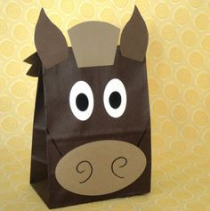 Cowboy themed goodie bag