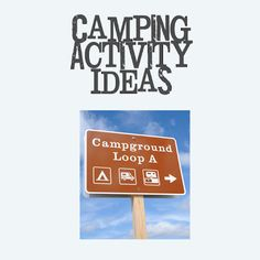 Second Chance to Dream: Camping 2012 part 2 - awesome collection of camping ideas for our next camping trip!