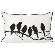 coussin cotton ferm living lovebirds