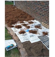 Before you plant those flowers beds