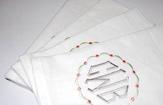 Wedding Napkins Linen Napkins Fancy Linens Personalized