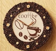 Кофейные рисунки - Google zoeken Coffee Bean Decor, Coffee Theme, Coffee Crafts, Coffee Beans, Coffee Clock, Decoupage, Diy And Crafts, Arts And Crafts, Topiary