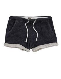 shorts moletom Marinho