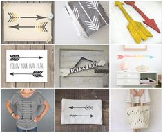 Arrow Love // An Etsy Collection
