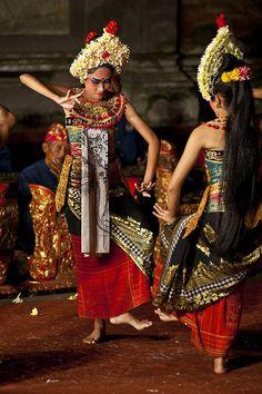 Beautiful Balinese Dancers, Indonesia.