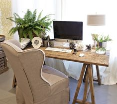 """42 Awesome Rustic Home Office Designs 