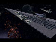 star destroyer fleet | ... battlefield : Modifications - Star Trek Armada II: Fleet Operations