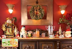 Citrus Holiday: Christmas Morning Table Runner