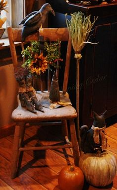 The Olde Weeping Cedar: ~•~Welcoming Autumn~•~ by superflea