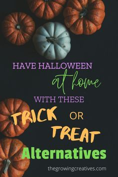 Your kids don't have to miss out on a fun Halloween this year. These activities are sure to make it a memorable holiday!