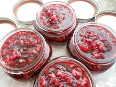 Spicy Cranberry Pomegranate Jam | Cosmo Hippie Chef