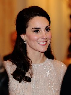 """thecambridgees: """"""""Catherine, Duchess of Cambridge attend the India-UK Year of Culture Reception at Buckingham Palace on February 27,2017. """" """""""